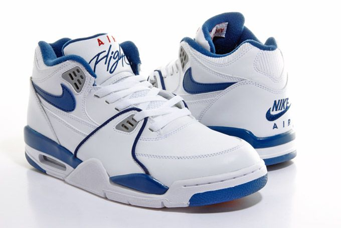 Nike Sportswear Air Flight 89 White/Royal Blue/Red ... We\u0027