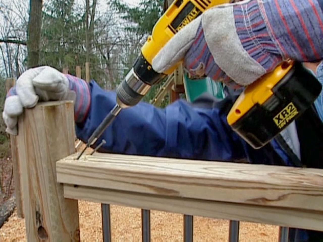 how to build a conduit fence contemporary