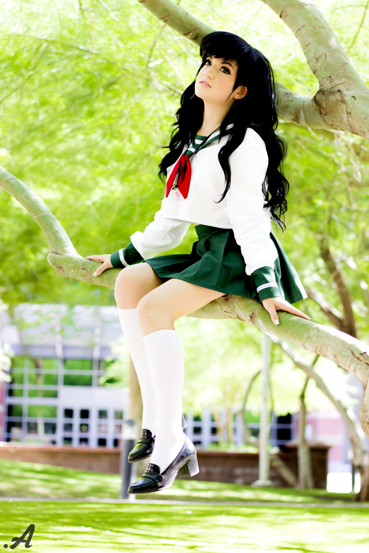 Really. inuyasha kagome cosplay