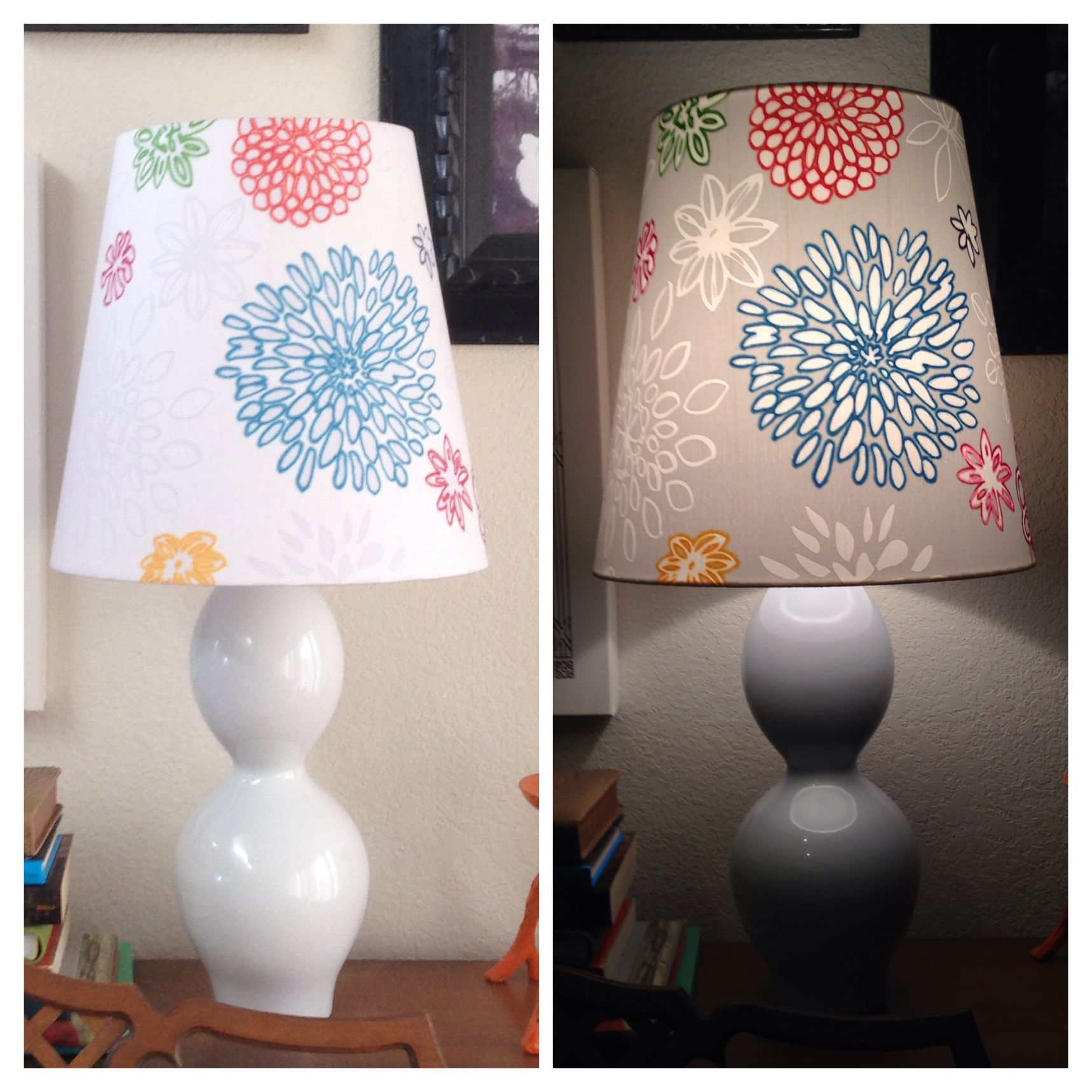 Ikea Lampshade Sharpies In Various Colors Awesome Colorful Lampshade Design De Interiores Arte