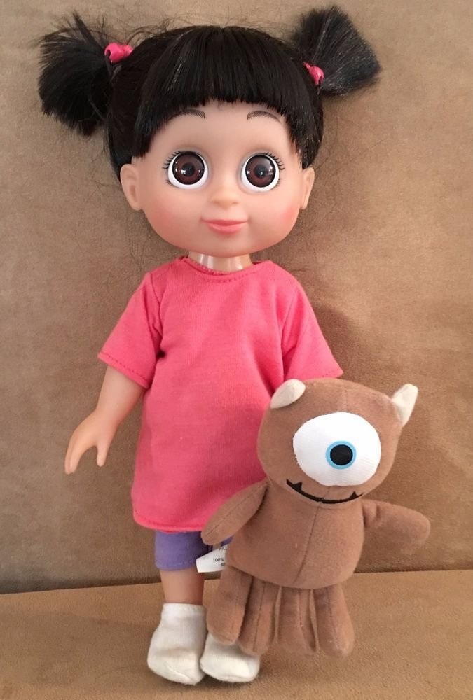 0ae584128 Disney Babblin Boo doll with plush toy Monsters Inc Little Mikey Hasbro  mike #Disney