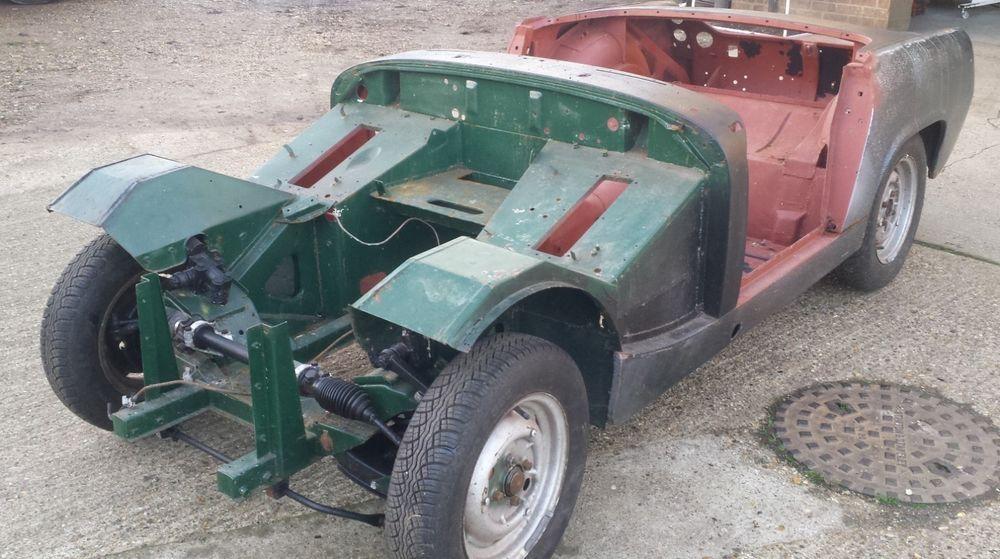 eBay 1966 MG Midget Unfinished Project Classic car