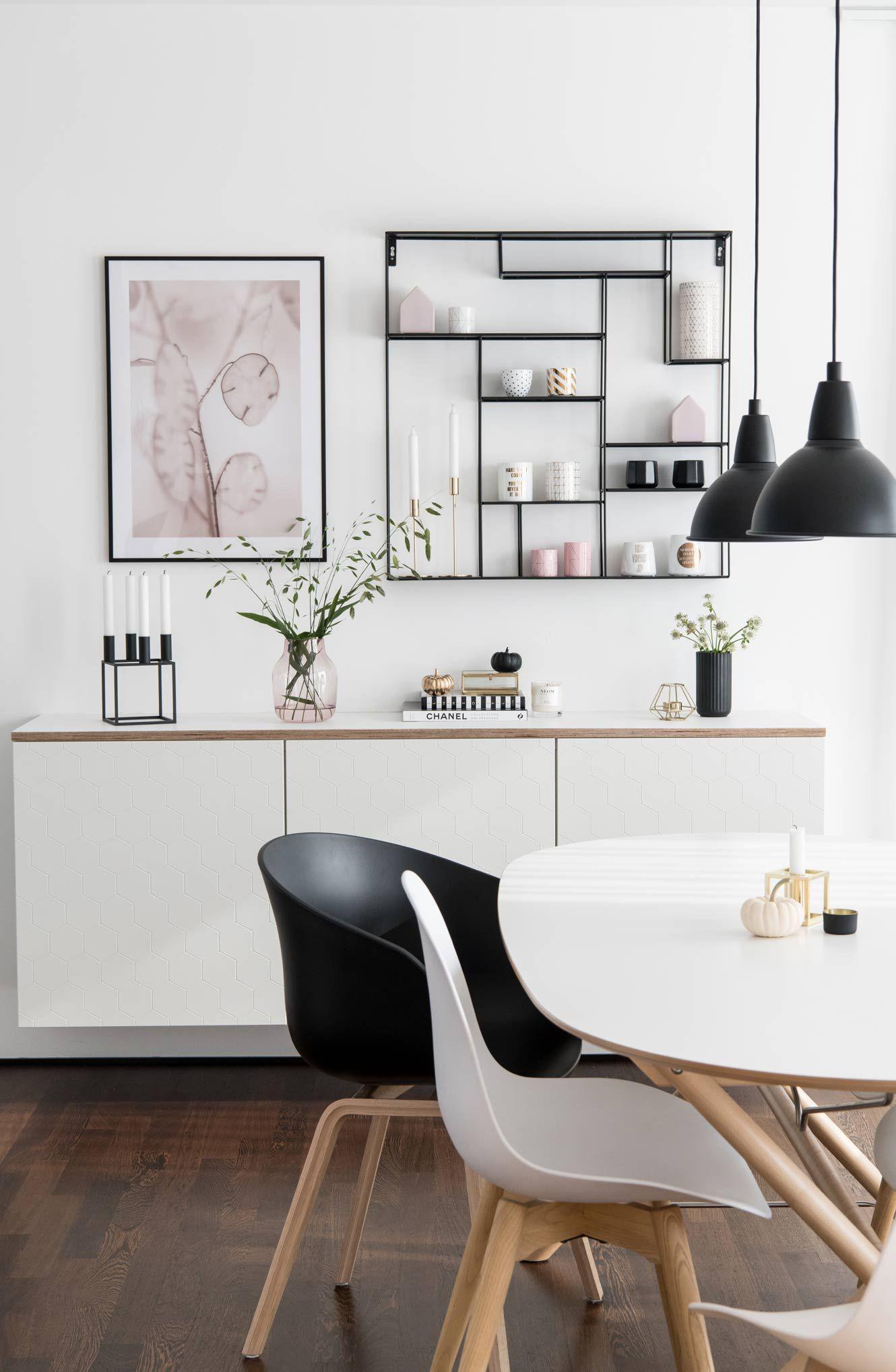 Diy Ikea Besta Mit Multiplex Platte Soul Follows Design Ikea Wohnzimmer Ikea Esszimmer Ikea Esstisch