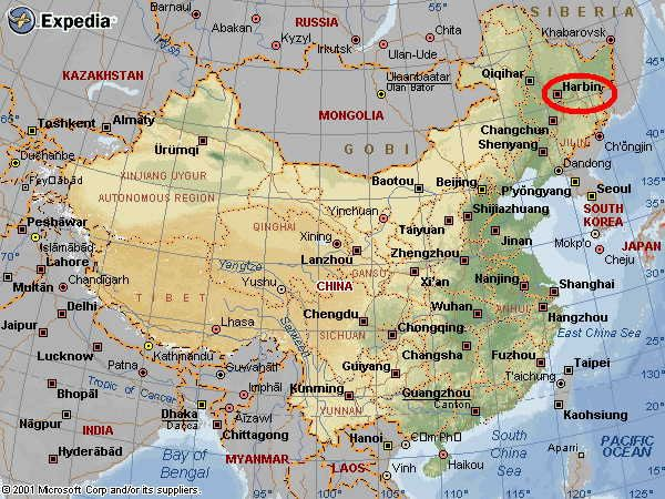 harbin china map Google Search some of my travels and old haunts