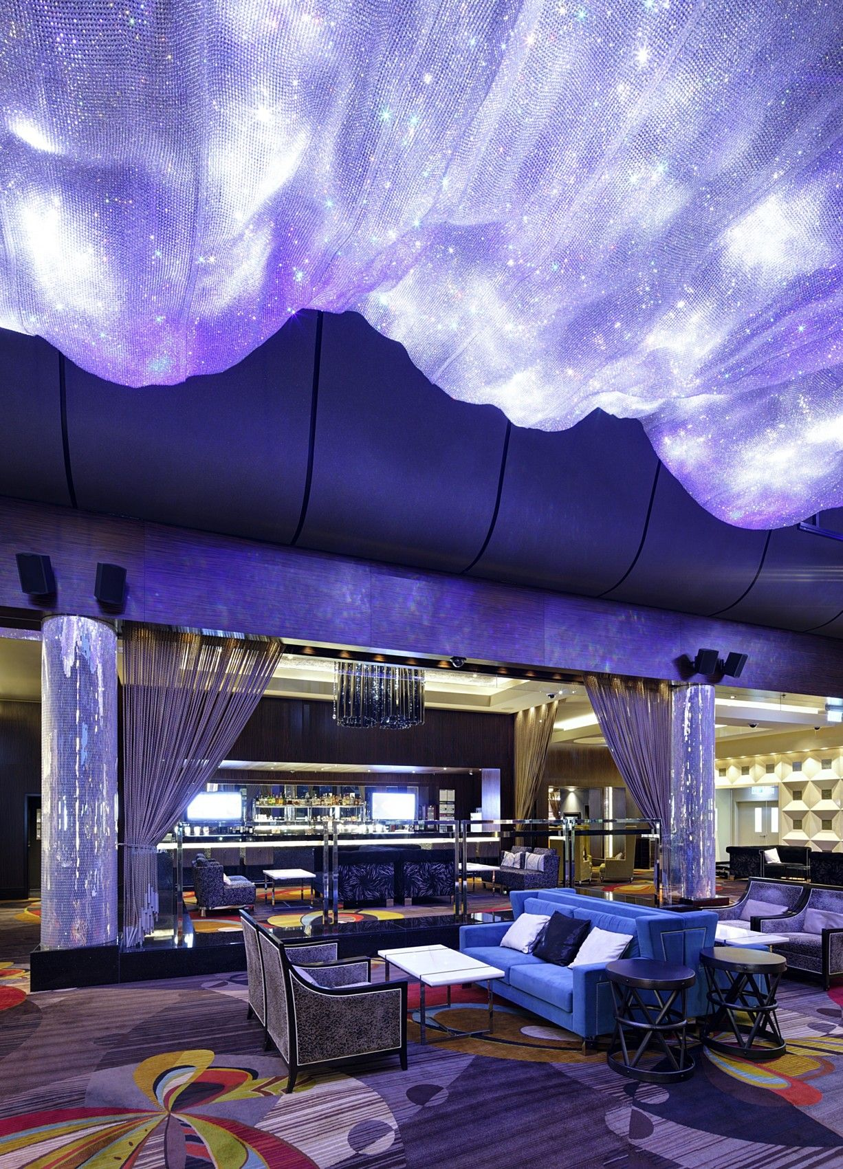 Hospitality the crown casino modern spaces hotel design