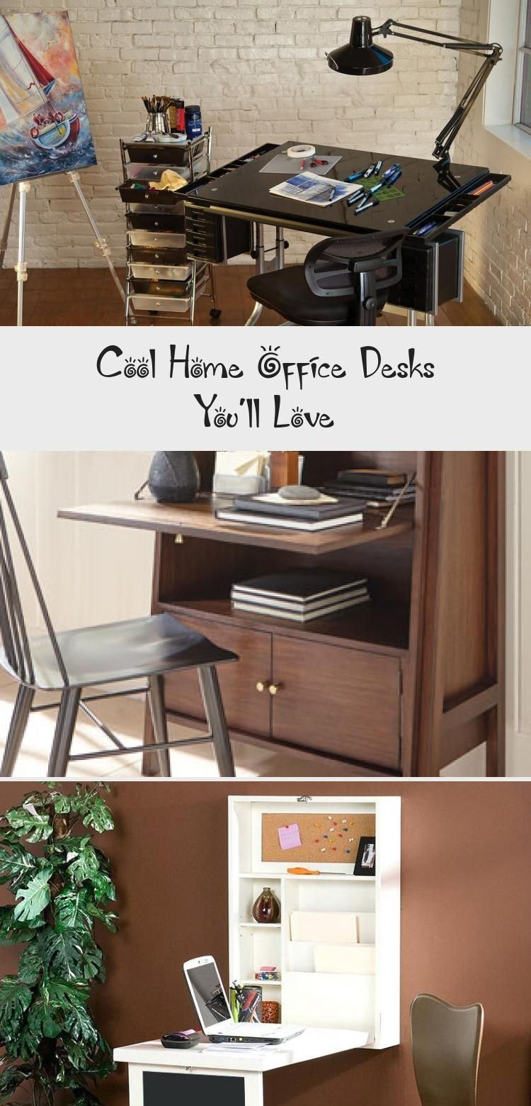 Cool Home Office Desks You Ll Love In 2020 With Images Home