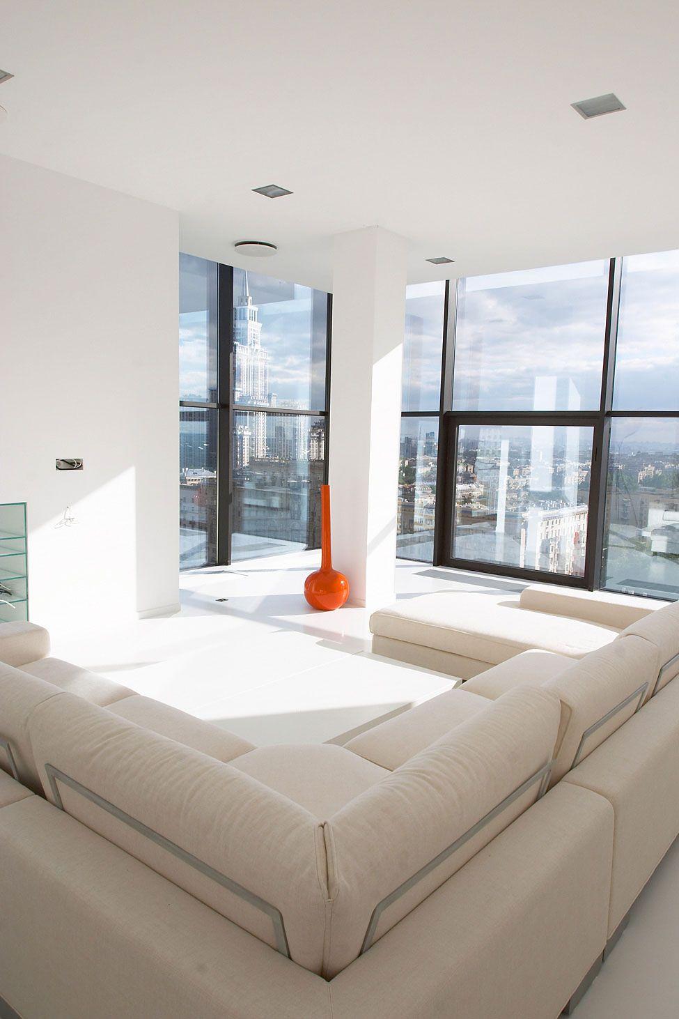 Falcons Nest Penthouse By Apk Studio 5 Homedsgn Apartment Decor Penthouse Living Home Goods Decor [ 1462 x 975 Pixel ]