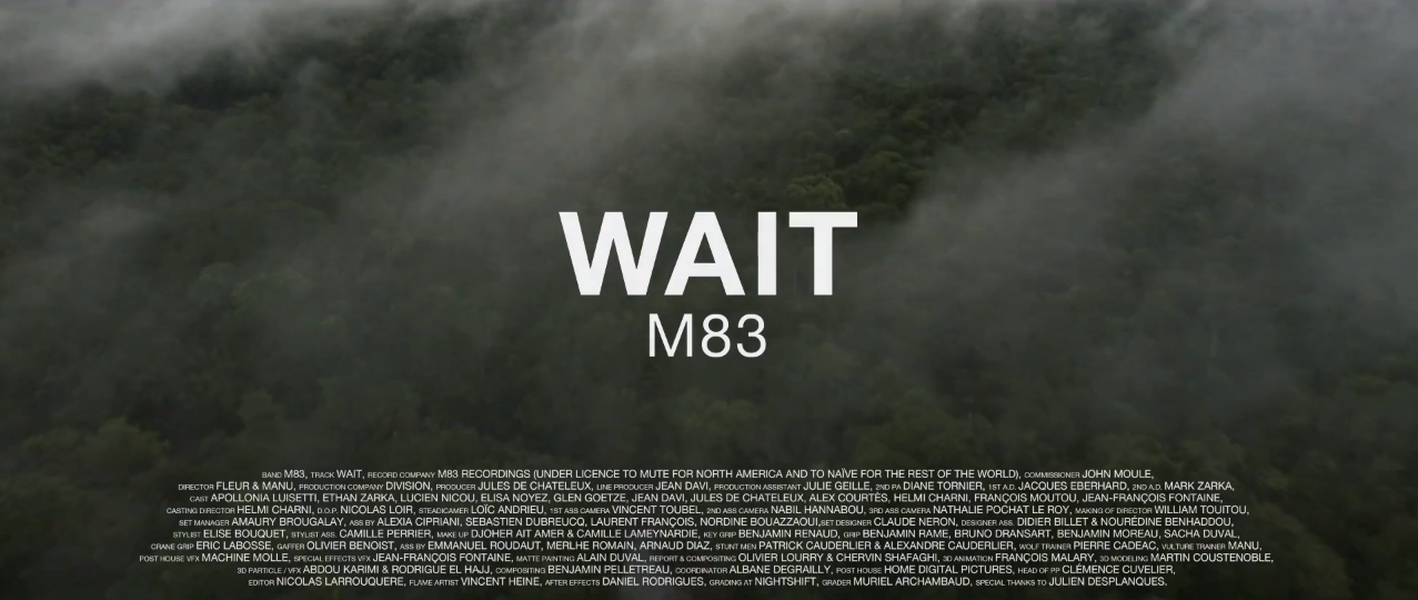 Momentum: M83 'Wait' : The spectacular music video - final episode of the sci-fi music video trilogy.
