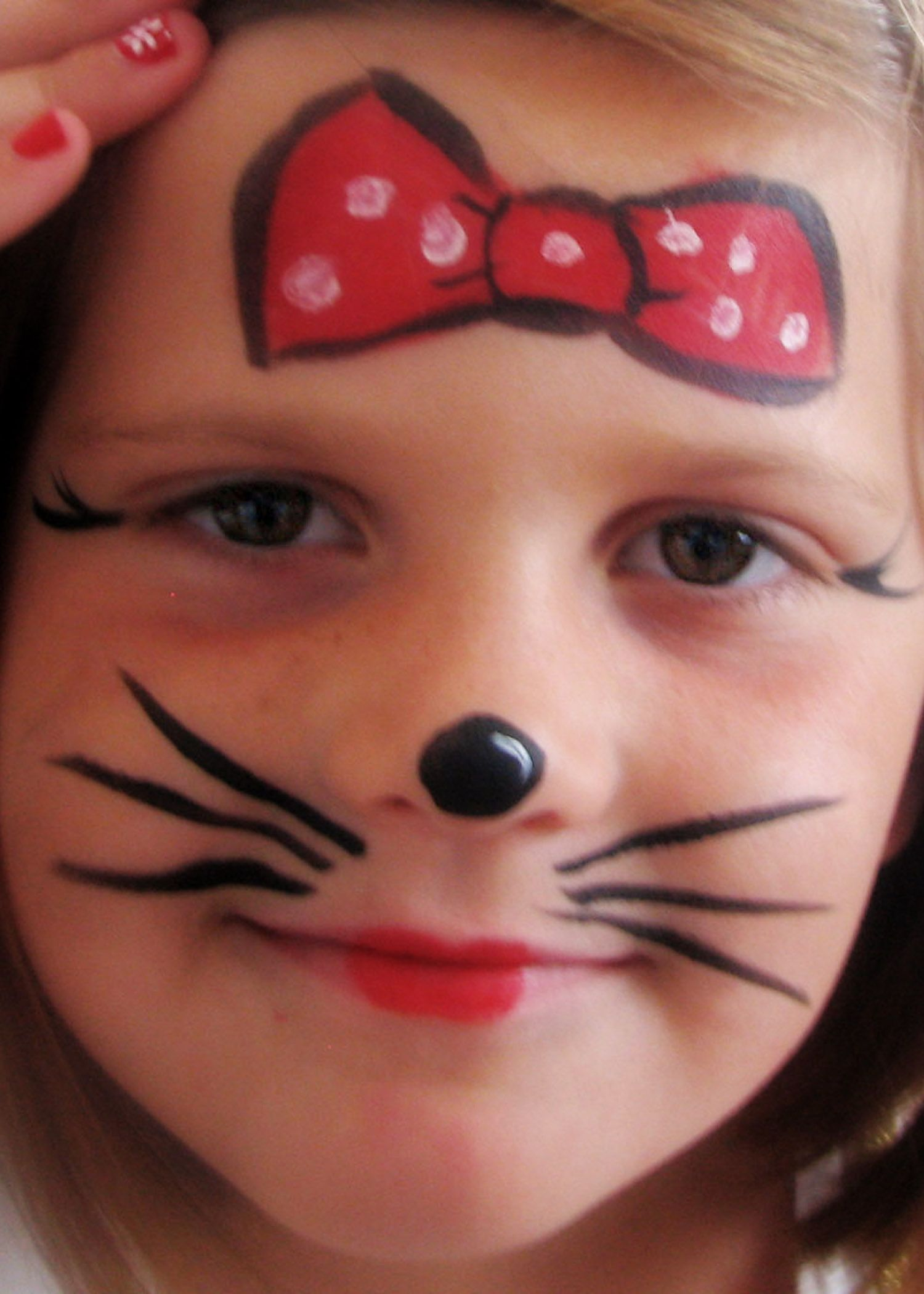 Minnie Mouse so cute! Maquillaje infantil, Maquillaje