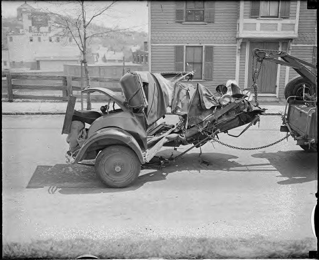 Bringing home whats left old vintage cars car crash