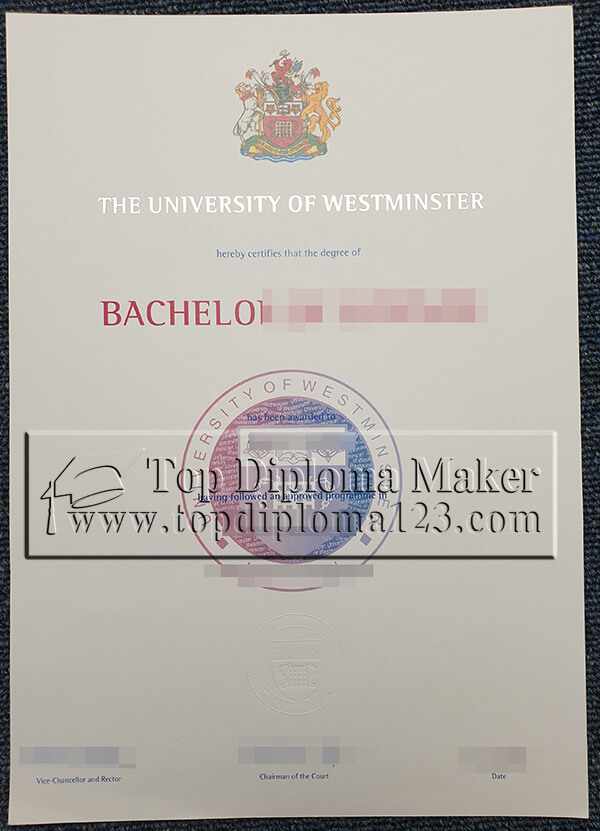 How To Buy Fake University Of Westminster Degree Certificate