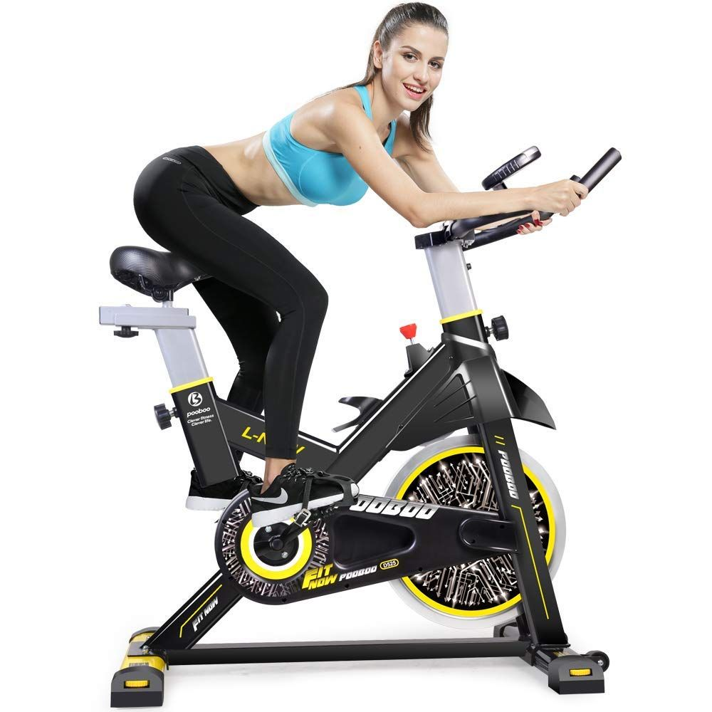 Indoor Cycling Bicycle Belt Drive Indoor Exercise Bike Stationary