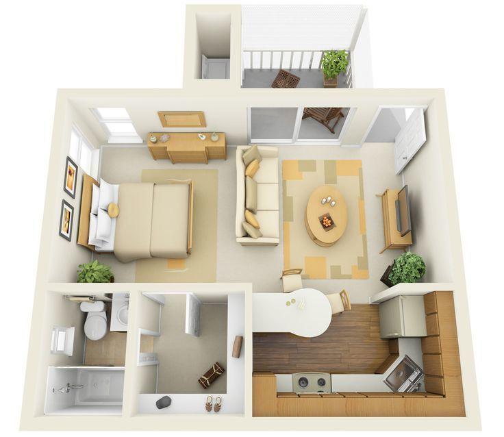 Photo of Wie können Sie richtig eine 1 Zimmer Wohnung einrichten? – Haus Dekoration Mehr
