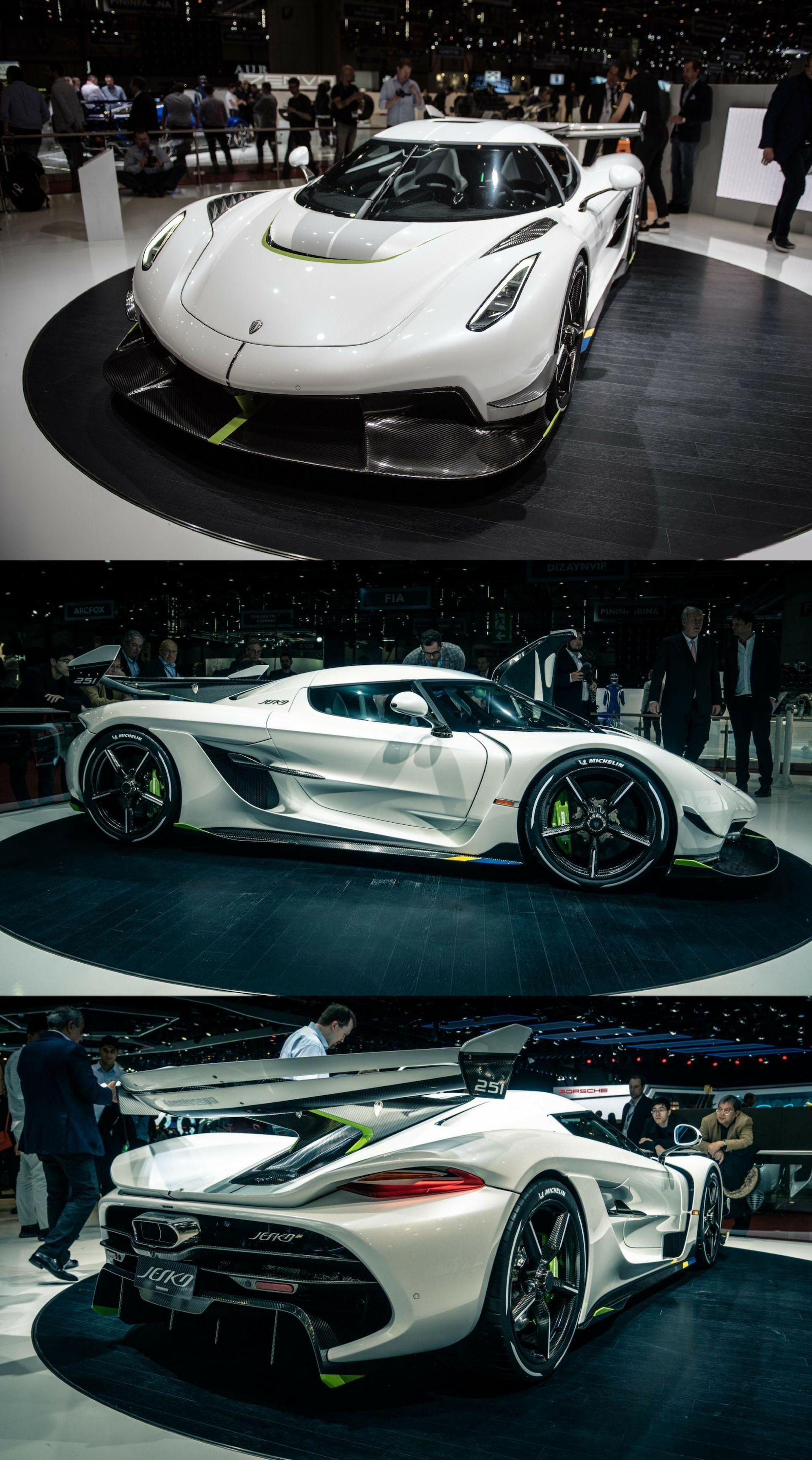 2020 Koenigsegg Jesko With A 5 0 Liter Twin Turbocharged V8 Engine That Makes A Claimed 1 280 Hp On Plain Gaso Luxury Car Interior Koenigsegg Luxury Cars Audi