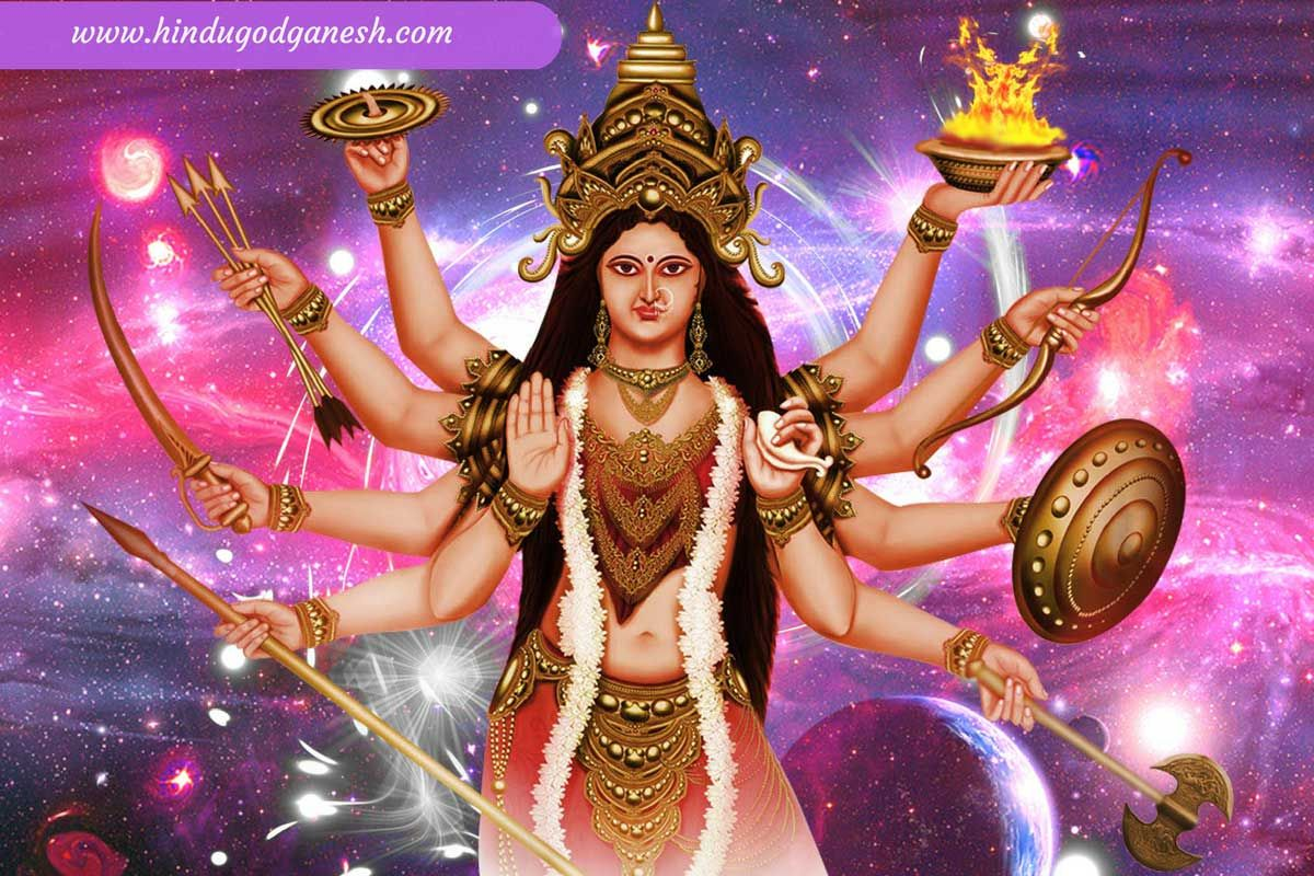 Free Download Durga Puja Hd Wallpaper To Decorate Your Computer
