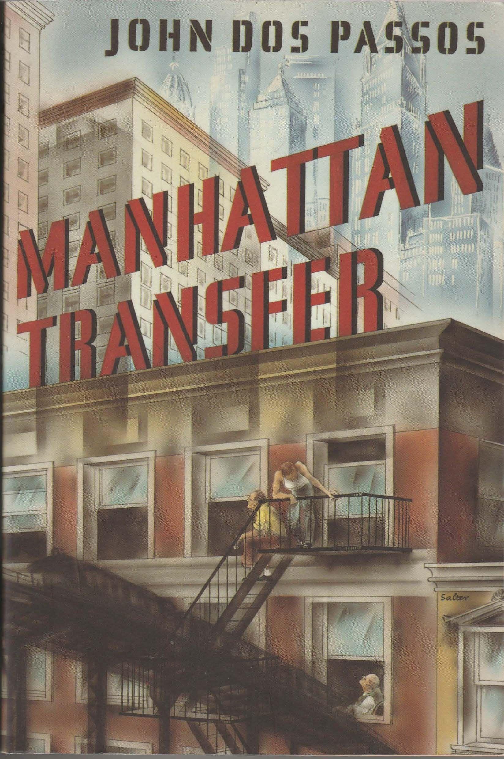 Manhattan Transfer John Dos Passos Passos Books 1920s Books