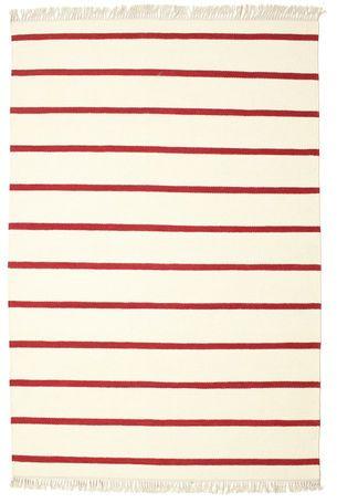 Covor Dorri Stripe - White/Red 230x160