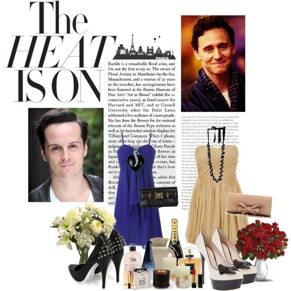 """""""Andrew Scott/Tom Hiddleston: Double Date"""" by silverscreenromance on Polyvor Oh hell yeah"""