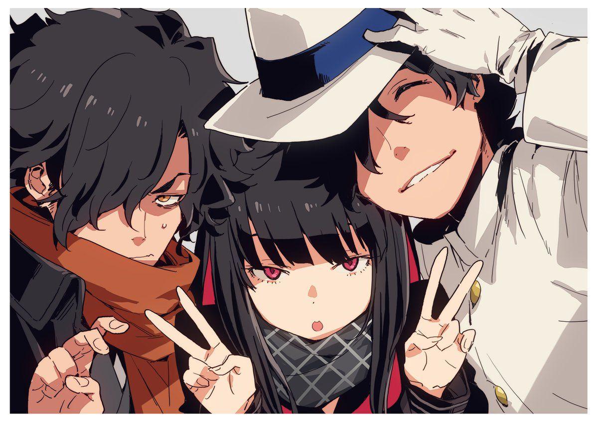 Okada Izou Sakamoto Ryouma Oryou Fate Anime characters