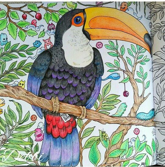 Animorphia | Inspirational Coloring Pages #inspiração #coloringbooks…