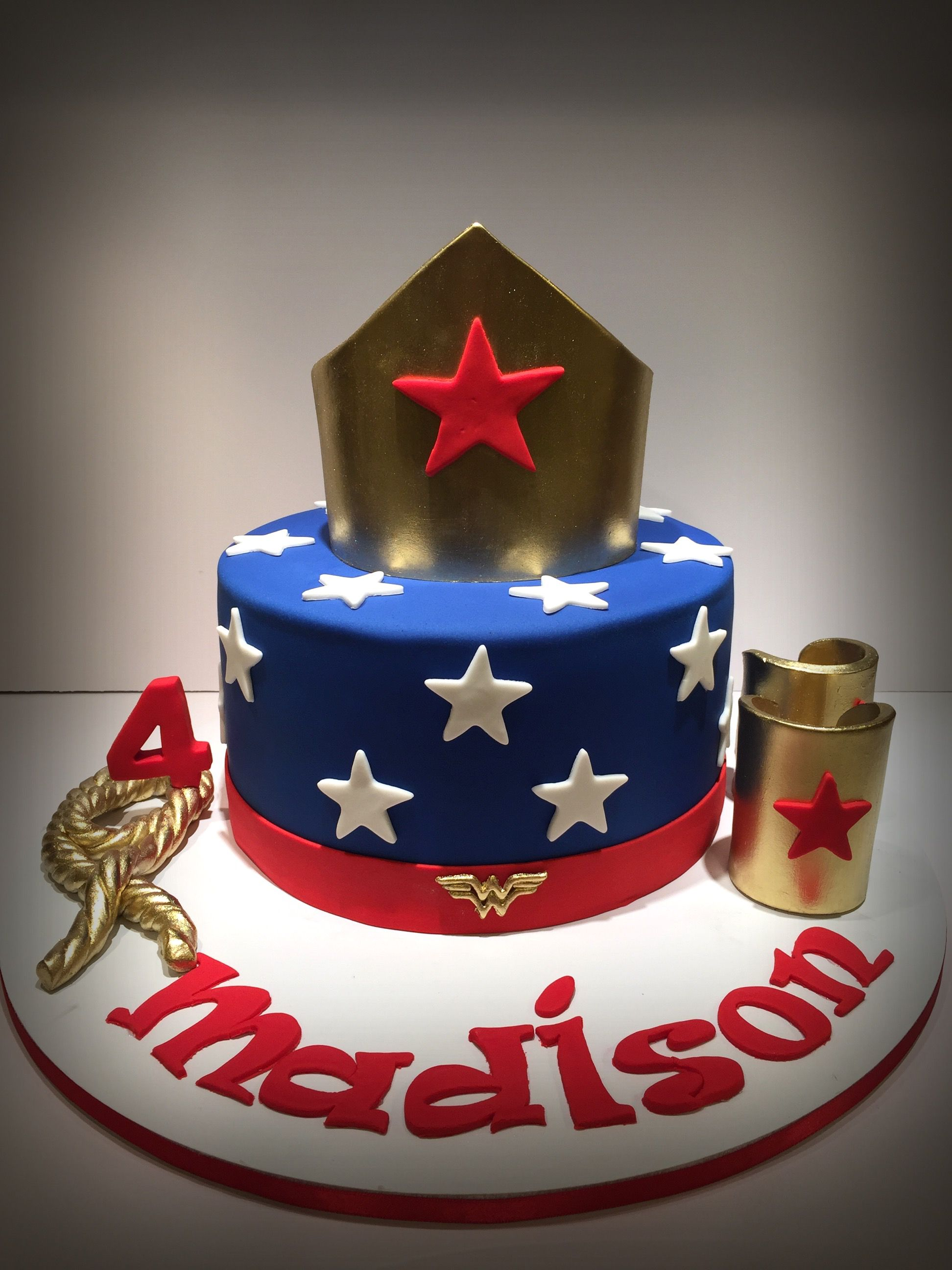 Wonder Woman Birthday Cake Mujer Maravilla Pinterest Wonder