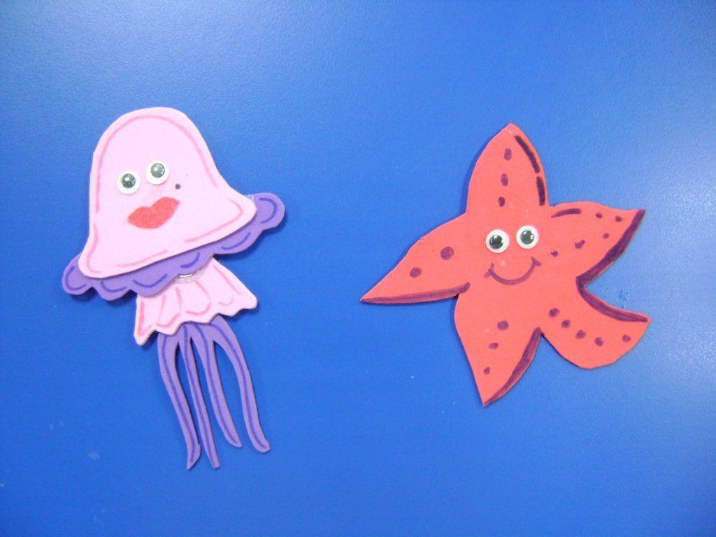medusa y estrella goma eva   Manualidades infantiles ...