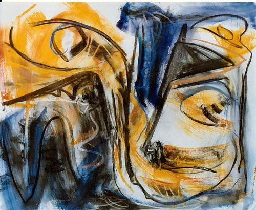 Le Serpent, 1994, 130 x 163 cm