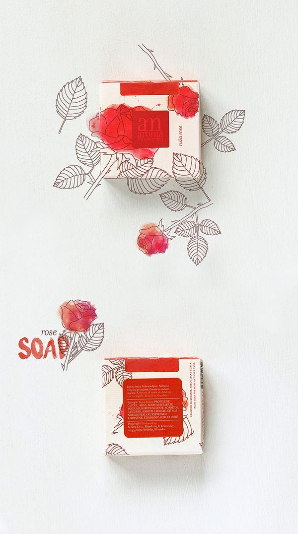 Aroma Mediterranea soaps on Packaging Design Served