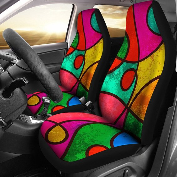 Terrific Hippie Raver Car Seat Covers Trance Festival Car Seat Creativecarmelina Interior Chair Design Creativecarmelinacom