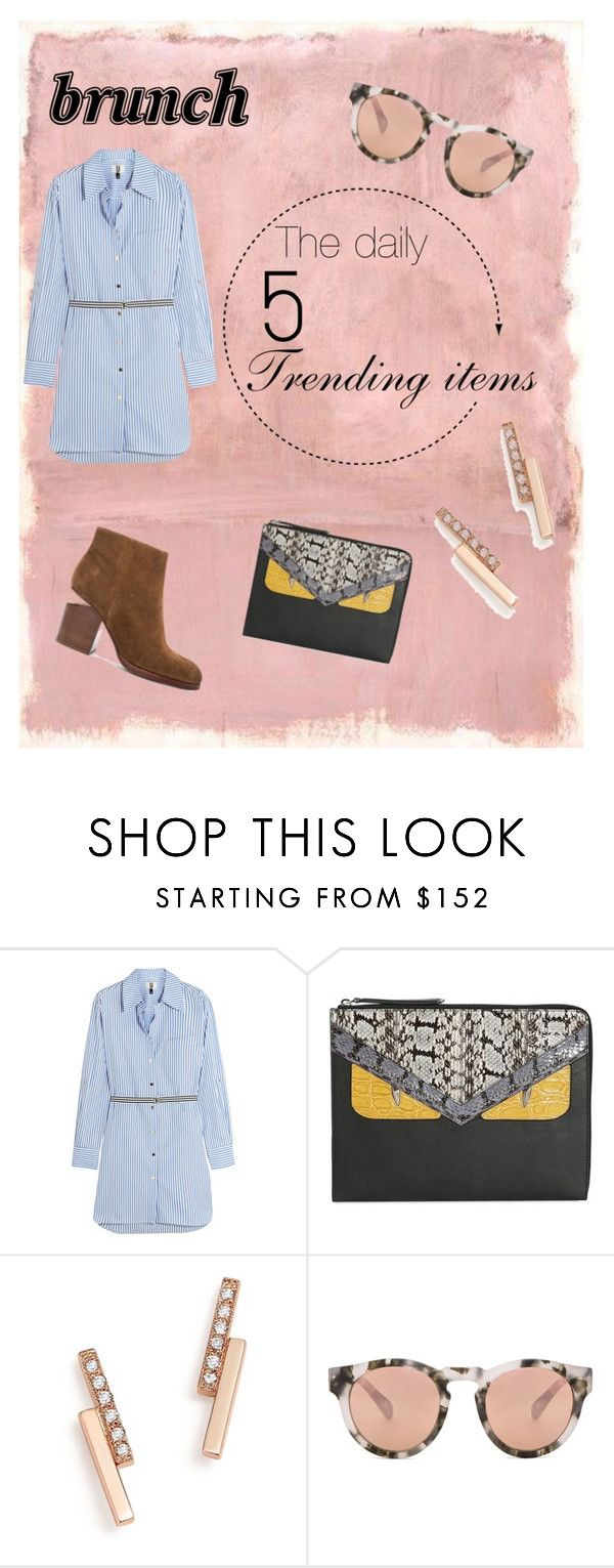"""""""The daily 5:brunch(description)"""" by grace-m-polyvor ❤ liked on Polyvore featuring Rothko, Topshop Unique, Fendi, ZoÃ« Chicco, Westward Leaning and Alexander Wang"""