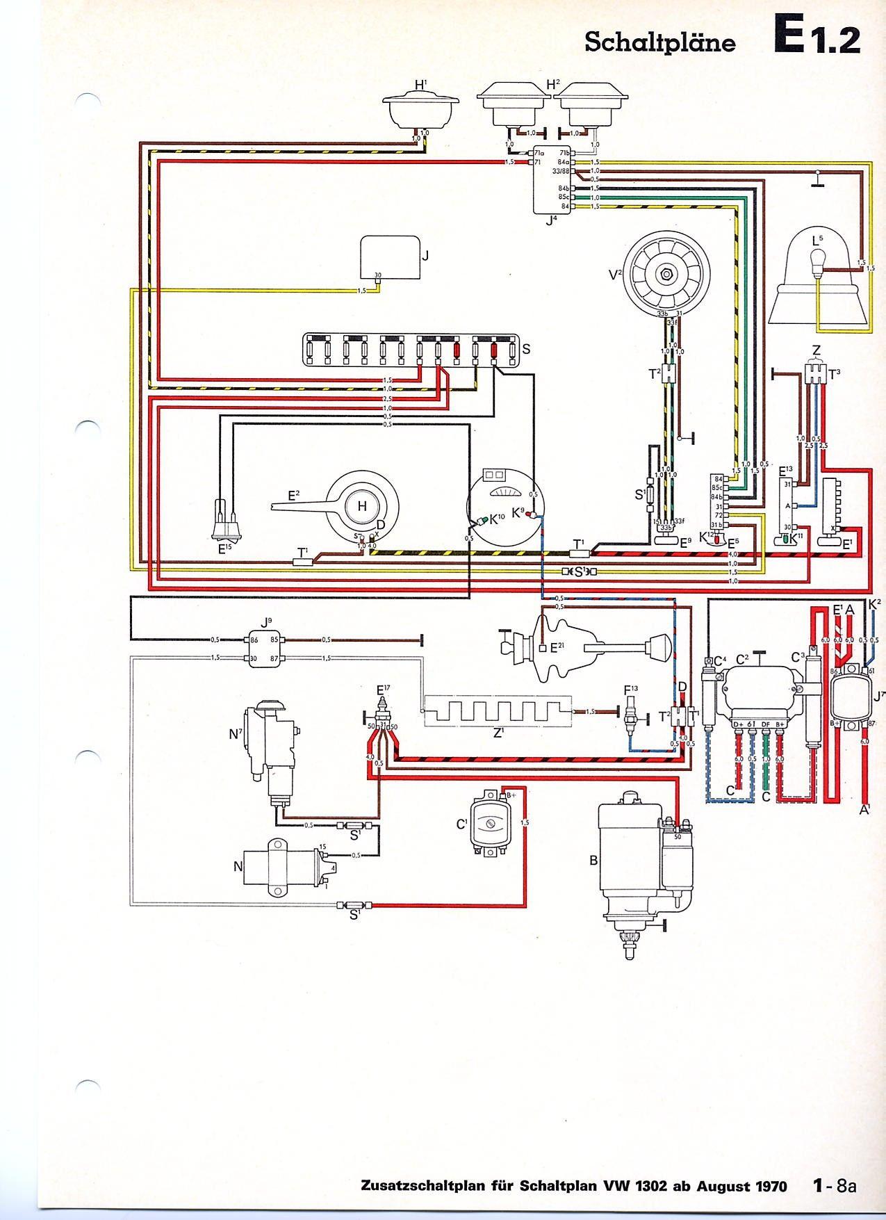 Vw Beetle Voltage Regulator Wiring Diagram Unique In 2020 Voltage Regulator Diagram Vw Beetles