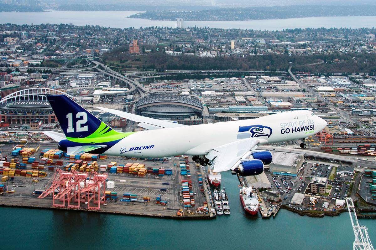 big sale 38aa7 bda85 Alaska Airlines Seattle Seahawks Airline | Seattle Seahawks ...