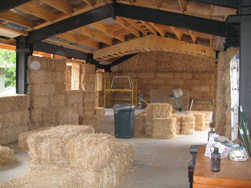Instead of timber framing you could even go longer for Timber frame straw bale house plans