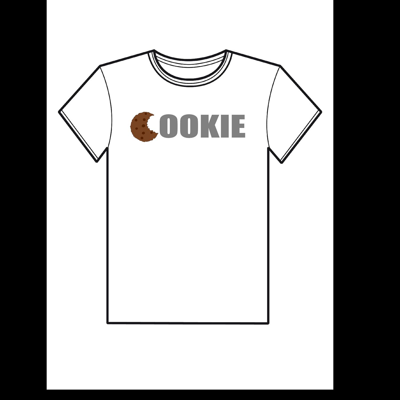Cookie  T-shirt. $15.00, via Etsy.