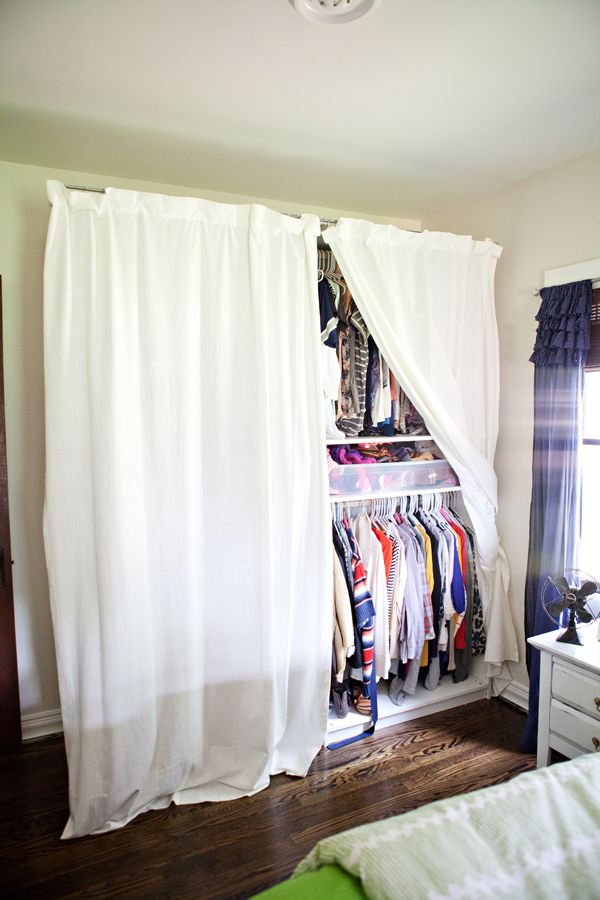 Temporary clothes storage? | Girls bedroom storage, Master ...