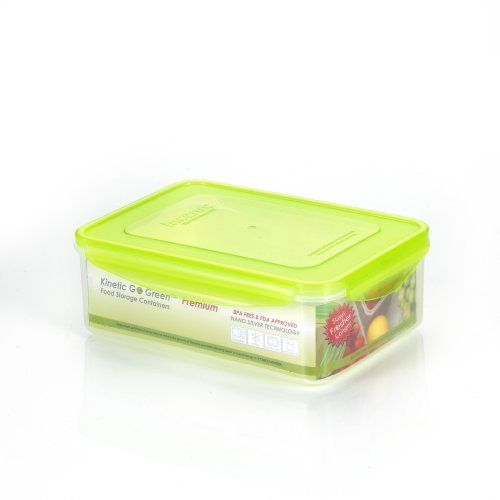 Kinetic Go Green Premium Nano Silver 91 Ounce Rectangular Food