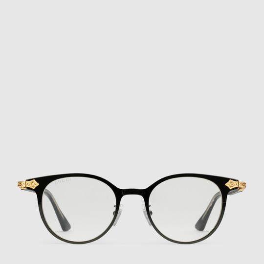 64f8b71210 Gucci Round-frame glasses Mens Glasses Frames