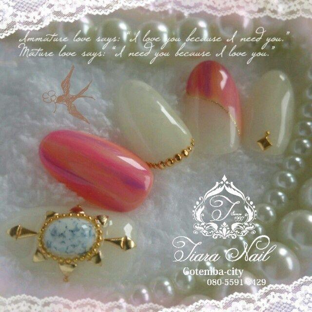貝殻やヒトデで作る▷夏ネイルデザイン2015☆青~ヌーディ―まで - curet [キュレット] まとめ