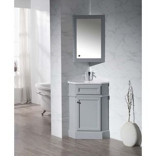 Gray Search Results Corner Bathroom Vanity Corner Vanity Mirror Cabinets