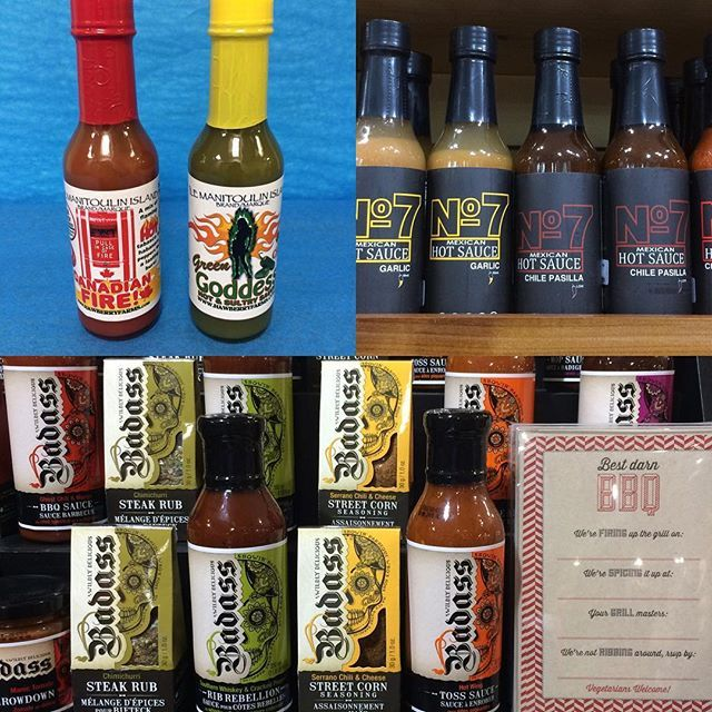 "When you think ""Ontario,"" do you think ""saucy"" & ""spicy""? If not, think again! #independentretailermonth #shoplocal #shopontario"
