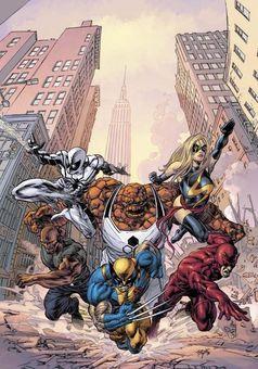 Novos Vingadores Terra 616 Comics Marvel Comics New Avengers
