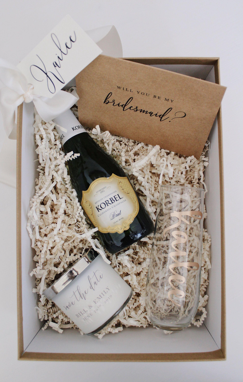 Bridesmaid proposal box bridesmaid gift maid of honor