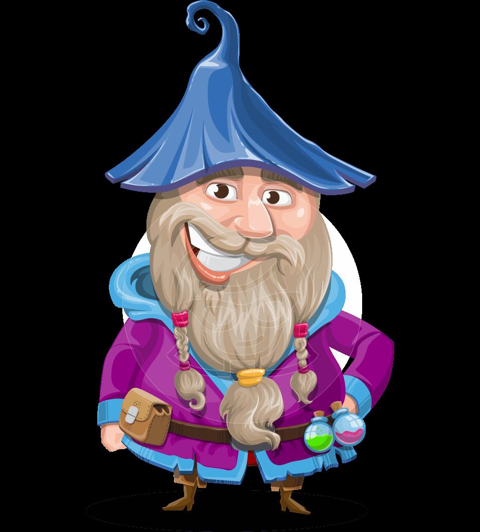 Wizard With Beard Cartoon Vector Character 112 Illustrations Graphicmama Beard Cartoon Cartoons Vector Cartoon