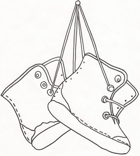 Ballerina Shoes Slippers Coloring Pages : Bulk Color | 640x573