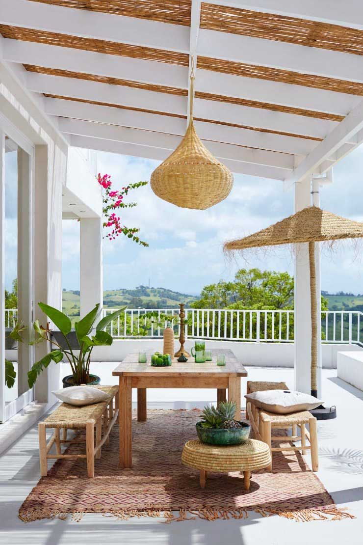 Las alfombras tambi n son para el verano terraza terrace pinterest decoracion terraza - Alfombras para terrazas ...