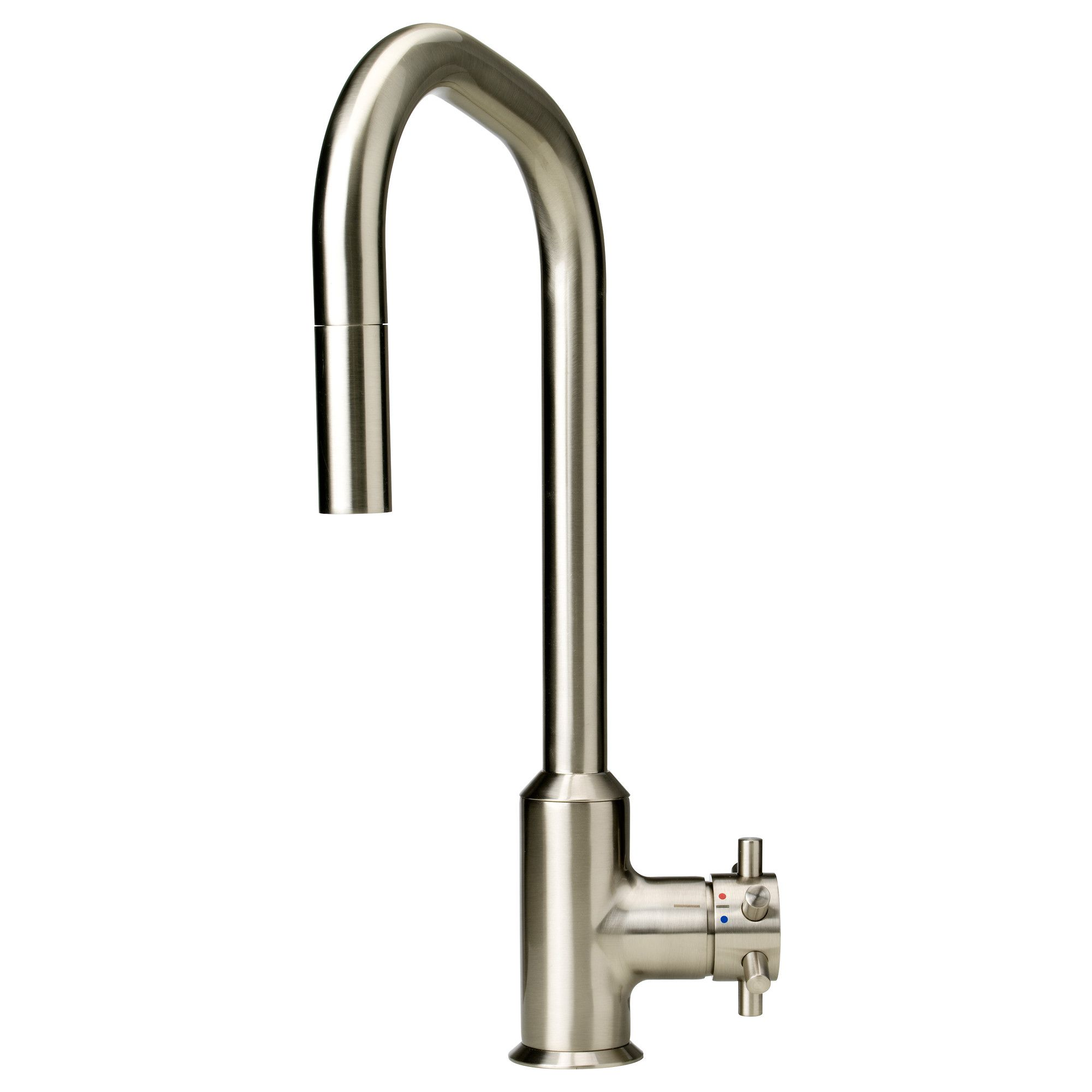 Ikea Küchen Armatur Alsvik Single Lever Kitchen Faucet Pull Out Stainless Steel