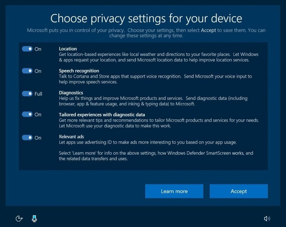 Microsoft Admits Windows 10 Has A Serious Problem Windows 10 Privacy Settings Microsoft