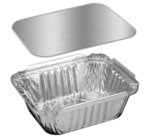 Details About 1 Lb Oblong Foil Pans With Board Lids 100 Sets Aluminum Take Out Containers With Images Aluminum Foil Pans Take Out Containers Aluminum Pans