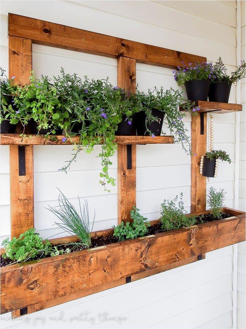 Vertical Garden Outdoor Wall Planter Ideas