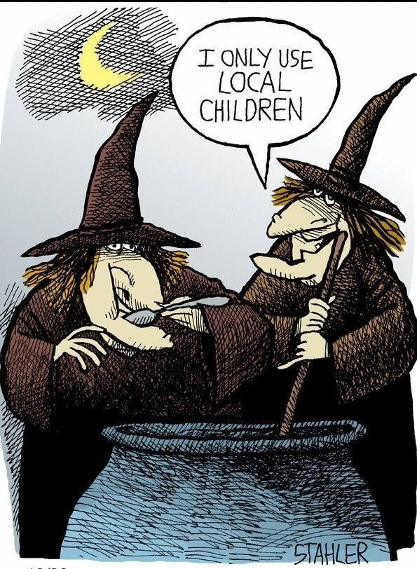 Locavore Witches Halloween Funny Witch Halloween